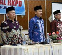 Bupati Adirozal Buka Rapat Konsultasi Publik Rancangan Awal RKPD Kerinci 2021