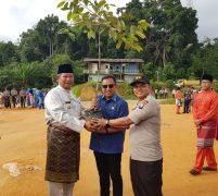 Pemda Anambas, Rombongan Seminar dan Polres Anambas Berkolaborasi Tanam  Pohon Penghijauan