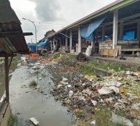 Taman Tanggo Rajo dan Pasar Lebak Bungur Terendam Kiriman Sungai Batang Hari dan Batang Tebo