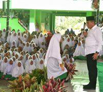 Kunjungi Pesantren Musthafawiyah,  Gubernur Edy Rahmayadi Berpesan 5 Hal untuk Santri