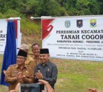 Pemda Kerinci Mekarkan Dua Kecamatan, Dirjen BAK : Pusat Pelayanan Terdekat, Pertumbuhan Ekonomi dan Budaya