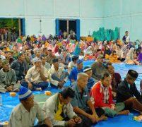 Wakil Ketua DPRD Provinsi Riau Zukri Reses di Desa Makmur