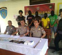 5 Pelaku Rampok Berhasil Ditangkap Polsek Dabosingkep