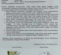 Tidak Penuhi Perjanjian Kerjasama, Ketua LSM KPK Akan Laporkan  Parmin ke Polres pelalawan