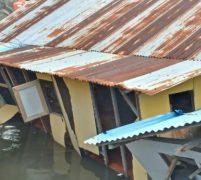 Satu Rumah Warga Tumbang Diterpa Angin Ribut