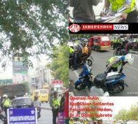 Satlantas Polrestabes Medan, Kian Gencar Lakukan Operasi Rutin