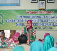 Nurul Akhyar Monitoring Kelurahan Jati Dalam Rangka Lomba Tertib Administrasi PKK