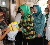 Tim Evaluasi Tertib Administrasi PKK Kota Medan Sambangi Kelurahan Binjai