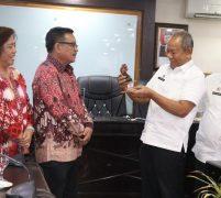 Wakil Wali Kota Bitung Kunjungi Pemko Medan