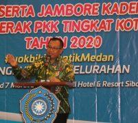 Akhyar Buka Jambore PKK Kota Medan 2020