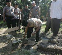 Bupati Asahan Letakkan Batu Pertama Perluasan Masjid