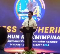 Press Gathering, Rudi : Ajak Insan Pers Bersama Bangun Batam