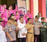 Bupati Abdul Haris dan Rombongan Kementerian Sambangi Mapolres KKA