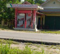 Telan Dana Desa Rp200 Juta, POM Mini Milik Desa Pelayang Pakum