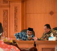 Bupati Sukandar Pimpin Rapat Pembentukan Gugus Tugas Penanggulangan Covid-19
