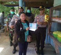 Tim Gabungan TNI-Polri, Satpol PP dan Dinas Kesehatan Gencarkan Patroli