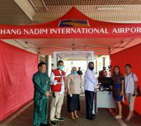 BUBU Hang Nadim Batam Terima Bantuan Alat Pemindai Suhu Tubuh dari IBA