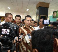 Tinjau Persiapan Sumut Fair 2020, Musa Rajekshah Harapkan Jadi Ajang Promosi UMKM