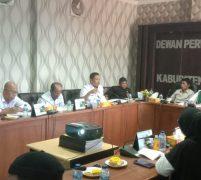 DPRD Anambas Bersama Pemda KKA Gelar Rapat Koordinasi Penanganan Wabah Covid 19