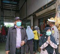 Sidak Pelabuhan dan Pasar, Anggota DPRD Provinsi Kepri Sahmadin: Minta Masyarakat Gunakan Masker