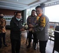 Wako Sungai Penuh H. Asafri Jaya Bakri Sambut Baik Kunjungan Kerja Kapolda Jambi