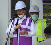 Presiden Jokowi Tinjau RS Khusus Covid 19 di Batam