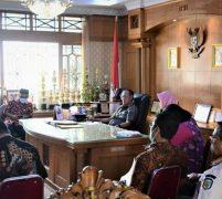 Bupati Tebo Ikuti Rakor Penanganan Covid 19 yang Dipimpin Gubernur Jambi