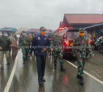 Sekda Munasri Sambut Kunjungan Danrem 042/Gapu Dalam Rangka Peninjauan Gugus Tugas Covid 19