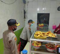 Permberlakuan Pembatasan Sosial Skala Besar, Polres Jakbar Sediakan Makanan Gratis