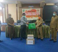 Walikota AJB Terima Bantuan APD dari Bank Jambi
