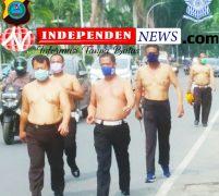 Satlantas Polrestabes Medan Gelar Olahraga Jalan Santai Tingkatkan Imunitas Personil