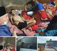 Bupati Adirozal Respon Cepat Warga Sakit Dibawa Ke Rumah Sakit
