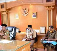 Bupati Sukandar Pimpin Rakor Penyaluran Bantuan Guna Memastikan Warga Tidak Kelaparan dan Tepat Sasaran