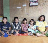 Janda 5 Anak di Batam Hidup Serba Kekurangan