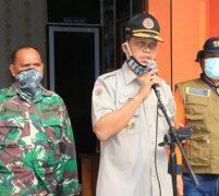 Tim Gugus Tugas Penanganan Covid-19 Semprot Disinfektan Di Kecamatan Medan Sunggal