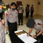 Waka Polres dan Kasat Lantas Polres Bintan Dilantik