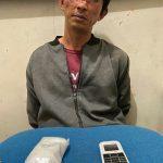 Pria ini Miliki Sabu 25,52 gram Digaruk Polisi