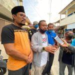 Anggota DPRD Lingga Bersama KNPI, Bagikan 600 Paket Takjil