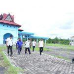 Bupati Sukandar Tinjau Terminal Pastikan Kesiapan Lokasi Penanganan Covid
