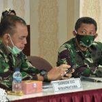 Danlantamal IV Tanjungpinang Hadiri Rakor Percepatan Penanganan Covid 19 di Kota Batam