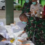 Kasad Jenderal Andika Perkasa Serahkan Bantuan Alat Kesehatan ke RS TK IV 17-07-01 Dr M Yasin Bone