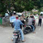 Satlantas Polres Anambas Gelar Razia Himbauan Pakai Helm dan Masker