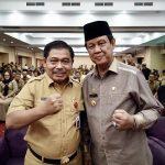 Plt Gubernur Isdianto Hadiri Rakor Percepatan Penyaluran Dana Desa