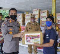 Bantuan  Akabri/Akpol 93, Camat Medan Tuntungan : Akan Salurkan Kepada Petugas Pemakaman Covid 19 dan Tenaga Medis