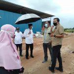 Komisi III DPRD Kepri Sidak Tumpukkan Limbah, Sahmadin : Lokasi Sudah Bersih, Limbah Sudah Tidak Ada