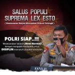 Tiga Jenderal Mendapat Apresiasi Dari Kapolri dan Presiden, Yang Dinilai Berhasil Dalam Penanganan dan Pencegahan Covid-19