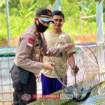 Polsek Palmatak Lakukan Pengecekan Ketersedian Ikan Air Tawar Selama Pandemi Covid 19
