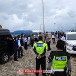 Polres Anambas Gelar Apel Kesiapan Pengamanan Kunker Menkopolhukam di Anambas