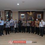 Audensi dan Silaturahmi Kapolda Kepri Bersama Lembaga Aras Kepri dan GP Ansor Kepri