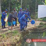 Sat Polairud Polres Tanjungpinang Kembangkan Budidaya Ikan Lele Bersama Warga